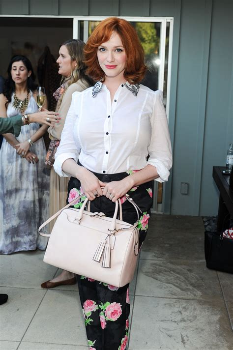 Spotted in Coach: Christina Hendricks with the Legacy