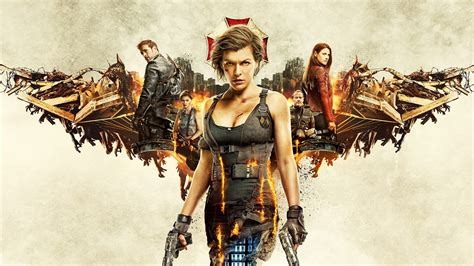 Resident Evil The Final Chapter 2017 Wallpapers | HD