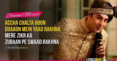 """6 Soulful Quotes from Sad-song of the year - """"Channa Mereya"""""""